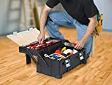 KETER 22 Inch Cantilever Plastic Portable Tool Box