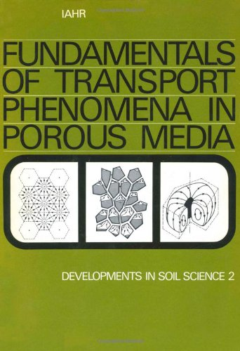 Fundamentals of transport phenomena in porous media, Volume 2: Based on the proceedings of the first International Sympo