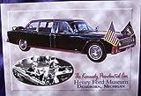 The Kennedy Presidential Car Postcard