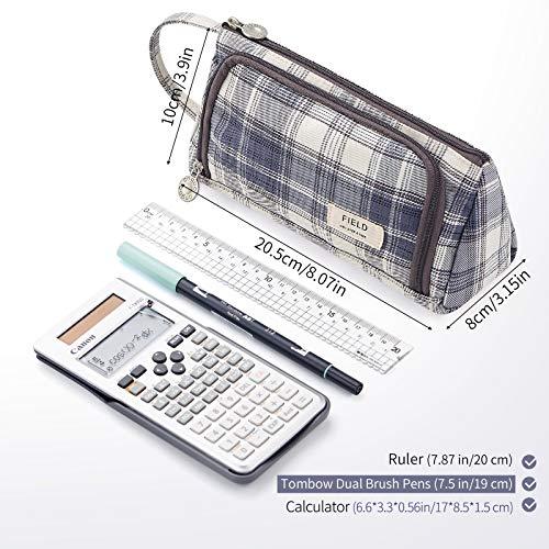 CICIMELON Pencil Case Large Capacity Pencil Pouch Handheld Pen Bag Gift for Office School Teen Girl Boy Men Women Adult…