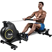 Rowing Machines for Home Use Foldable, Doufit RM-01 Magnetic Row Machine Exercise Equipment with Aluminum Rail…