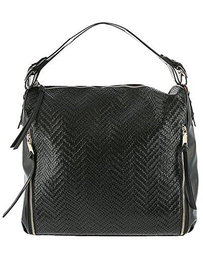 - Steve Madden Women's Bwinnie Hobo Black Handbag