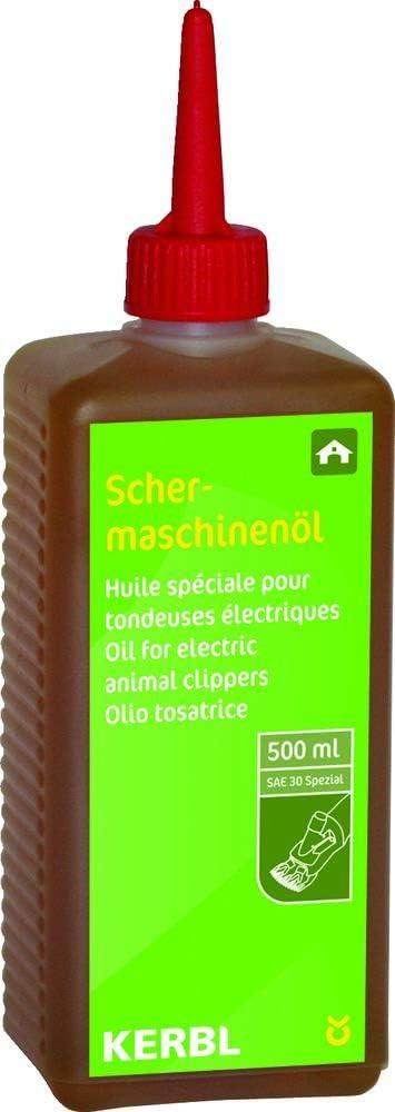 Kerbl Aceite para máquinas cortapelo Constanta, 500 ml: Amazon.es ...