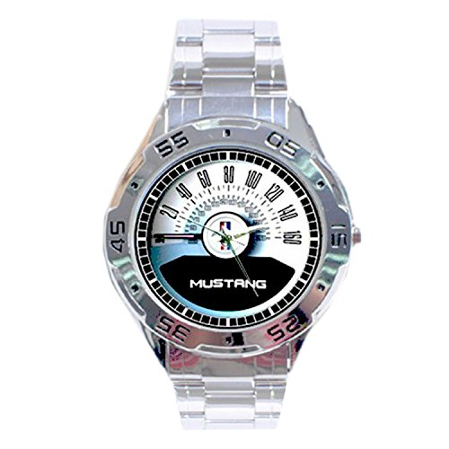 mrzk138-new-ford-mustang-gt-50-covertible-speedometer-chrome-mens-watch-wristwatches