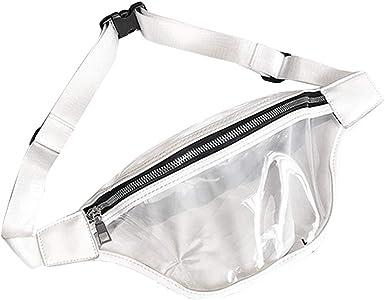 FENICAL Fanny Pack, bolsa de cintura transparente para un solo ...