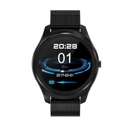 Amazon.com: UNOKS Smart Watch Heart Rate Waterproof ...