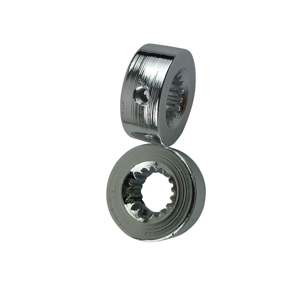 Semoic Chrome Billet en Aluminium 4 1//4 Pouce Kit Poign/ée de Porte Hot Rod Kustom pour Chevy pour Ford pour Chrysler