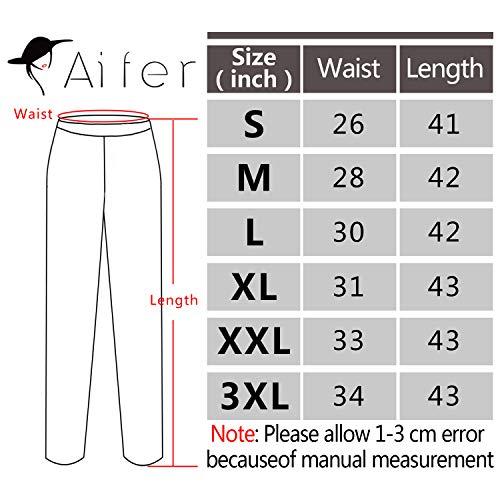 edf18d14d6f Aifer Women s Comfy Casual Pajama Pants Floral Print Lounge Drawstring  Palazzo Long Wide Leg Pants