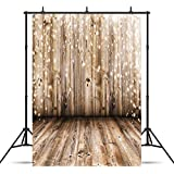 SJOLOON 5x7ft Vinyl Photography Background Nostalgia Wood Floor Pattern Photography Backdrop Studio Props JLT10359