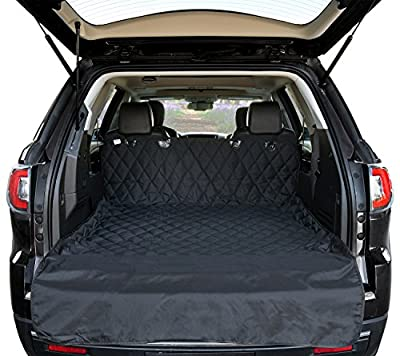Cargo Liner Cover For SUVs and Cars, Waterproof Material , Non Slip Backing, Extra Bumper Flap Protector, Large Size by Arf Pets