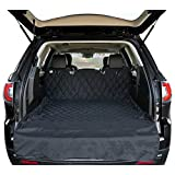 Cargo Liner Cover For SUVs and Cars, Waterproof Material, Non Slip Backing, Extra Bumper Flap Protector, Large Size