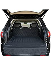 Arf Pets SUV Cargo Liner Cover for SUVs and Cars, Waterproof Material, Non Slip Backing, Extra Bumper Flap Protector, Large Size - Universal Fit