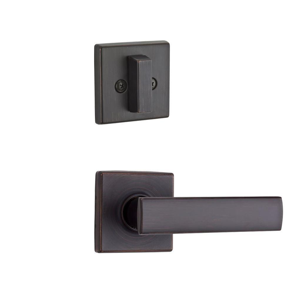 Kwikset 974VDL SQT 11P 974VDL-11P Venetian Bronze Vedani Single Cylinder Interior Pack for Contemporary Handlesets