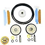 whirlpool 12001541 - Maytag Dryer Roller Belt Pulley Repair Kit (33002535, 12001541, 6-3700340, 306508)