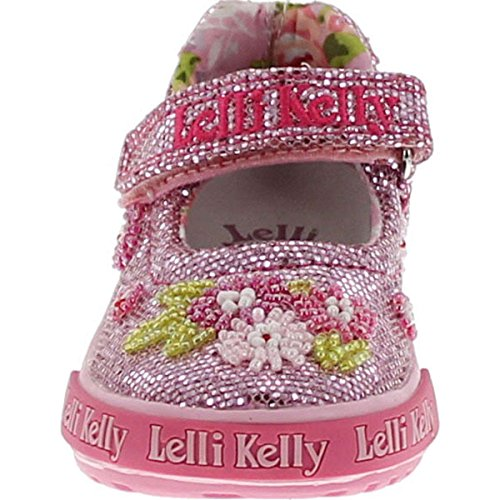 Lk4056 Kids Pink Glitter Flats Shoes Lelli Jane Fashion Mary Girls Kelly qCCBt