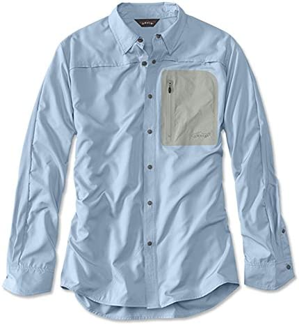 Orvis Men`s Jackson Bi-Sleeve Long-Sleeved Shirt