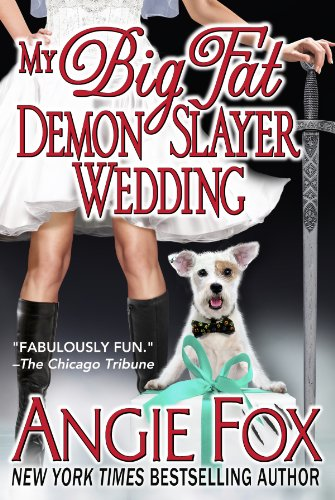 My Big Fat Demon Slayer Wedding (Biker Witches Mystery Book 5) -