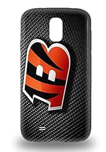 Galaxy 3D PC Case Cover NFL Cincinnati Bengals Logo Galaxy S4 Protective 3D PC Case ( Custom Picture iPhone 6, iPhone 6 PLUS, iPhone 5, iPhone 5S, iPhone 5C, iPhone 4, iPhone 4S,Galaxy S6,Galaxy S5,Galaxy S4,Galaxy S3,Note 3,iPad Mini-Mini 2,iPad Air )