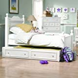 Bundle-12 Summer Breeze Low Panel Bedroom Collection (6 Pieces) Size: Full