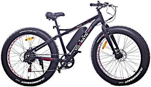 Bicicleta de montaña eléctrica de rueda ancha Cyclamatic: Amazon ...