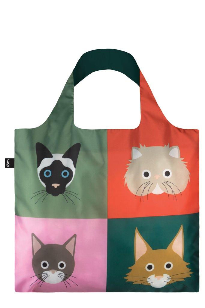 LOQI STEPHEN CHEETHAM Cats Bag