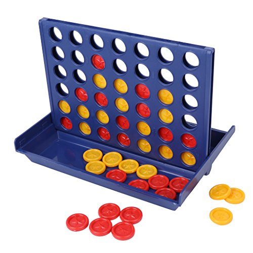 BKID Connect 4 Game, 4 in a Row, Line Up 4, Classic Family Toy, Board Game for Kids ()