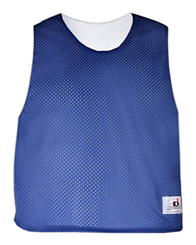 Royal Blue/White Youth S/M Reversible LAX Practice Jersey Pinnies