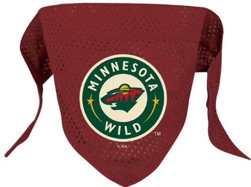 Minnesota Wild Pet Dog Hockey Jersey Bandana M/L