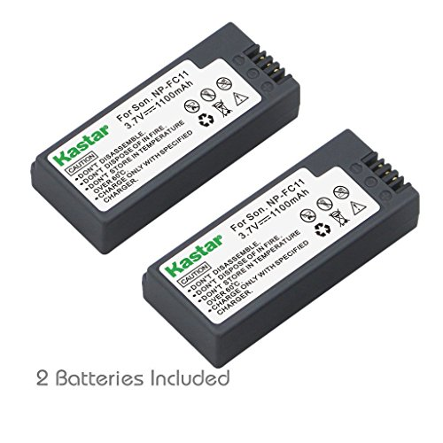 (Kastar Battery (2-Pack) for Sony NP-FC11 NP-FC10 & Sony Cyber-shot DSC-P12 DSC-P10 DSC-P8 DSC-V1 DSC-P7 DSC-P5 DSC-P9 DSC-P3 DSC-F77 DSC-P10S DSC-FX77 DSC-P2 DSC-P10L DSC-P8L DSC-F77A DSC-P8S)