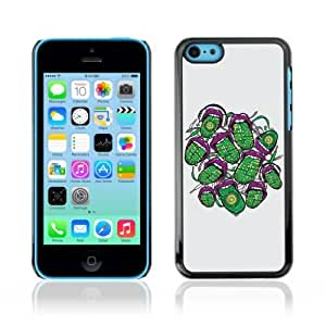 YOYOSHOP [Cool Abstract Neon Tongue] Apple iPhone 5C Case