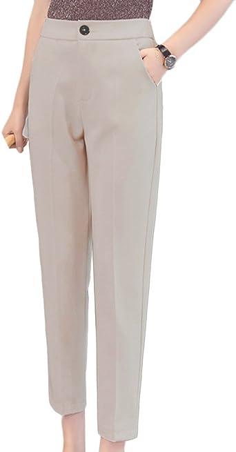pantalon femme large et fond serre