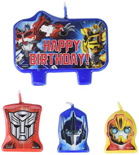 amscan Transformers Birthday Candles