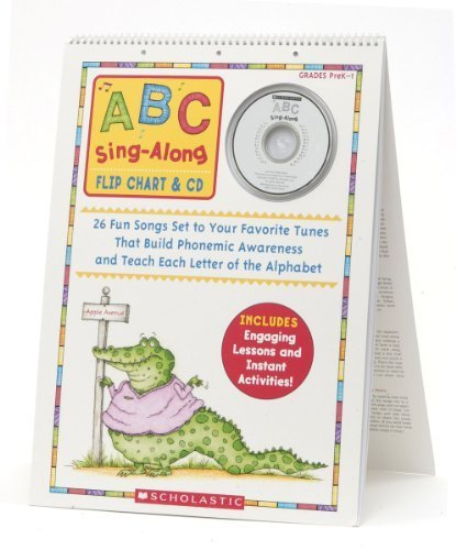 ABC Sing-Along Flip Chart( 26 Fun Songs Set to Your Favorite Tunes That Build Phonemic Awareness and Teach Each Letter of the Alphabet [With CD (Audio)[ABC SING ALONG FLIP CHART][Spiral] (Abc Flip Chart With Cd)