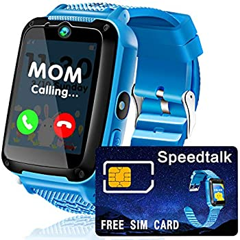 f3563361d Kids Smart Watches Plus -  SIM Card Bundle  Phone Smartwatch for Kid Boy  Girl with 1.54