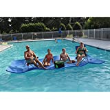 Big Joe Waterpad/Bean Pool Float, 15 by 6-Feet, Blue