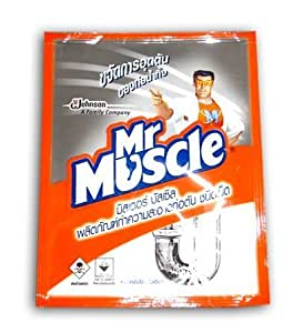 mr muscle drain declogger bead type instructions