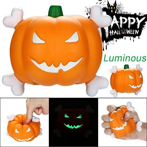 Sagton Slow Rising Stress Reliever Toys, Halloween Luminous