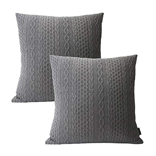 Booque Valley Pack of 2 Super Soft Pillow Covers