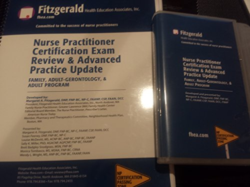 2016 Nurse Practitioner Certification Exam Review & Advanced Practice Update with MP3. Family, Adult-Gerontology, & Adult Program