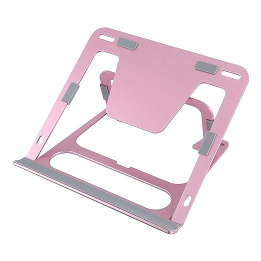 Lesiey Soporte de Aluminio para portátil Soporte para computadora ...