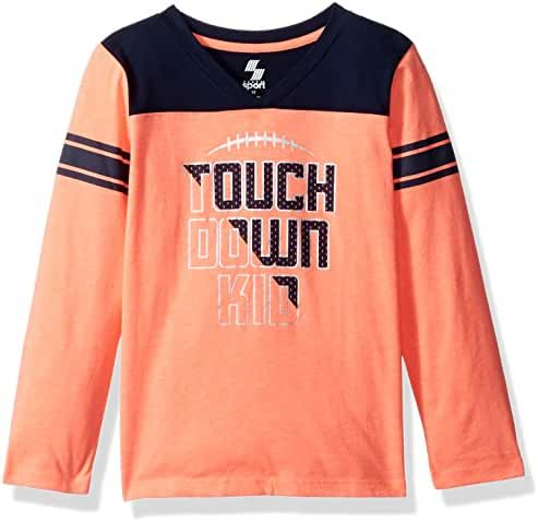 The Children's Place Baby Boys' Long Sleeve Active Tee