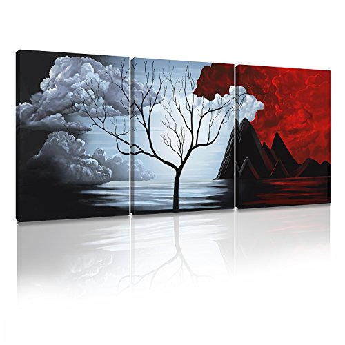 red and black wall pictures - 5