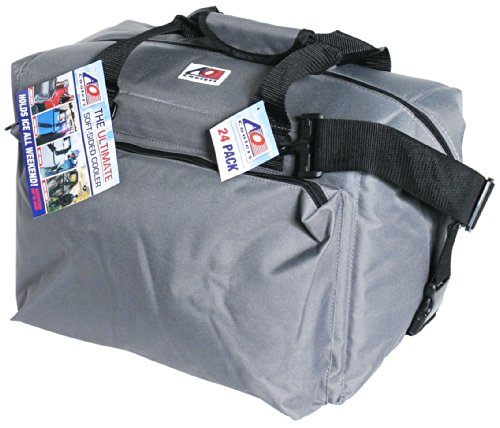 ao-coolers-deluxe-canvas-soft-cooler-with-high-density-insulation-charcoal-24-can
