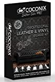 Coconix Leather Care PRO Professional Leather & Vinyl Repair Kit Black