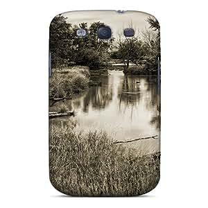 Cute Appearance Cover/tpu EGDNJ14178utNWj Forgotten River Case For Galaxy S3