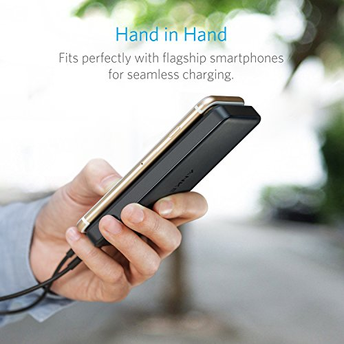Anker PowerCore II Slim 10000 Ultra Slim Power Bank for iPhone, Samsung Galaxy and More