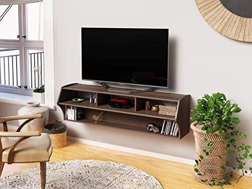 Espresso Altus Plus 58″ Floating TV Stand