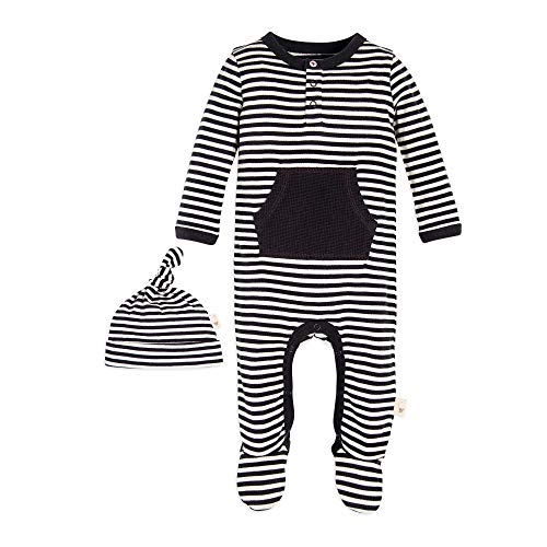Burt's Bees Baby Unisex Baby Romper Jumpsuit, Long Sleeve One-Piece Coverall, 100% Organic Cotton