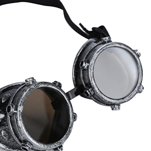 Lens zolimx DIY Windproof C Steampunk Interchangeable Punk Glasses wwqIOZU4rv
