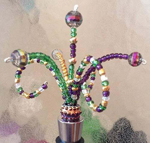 Mardi Gras Bottle Stopper Celebration Design Bottle Stopper